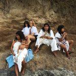 Zaprzyjaźniona rodzina Indian Koguis