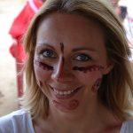 Rytualne malowanie twarzy z Indiankami Wayúu