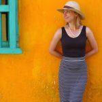 Kolorowe ściany w Cartagenie