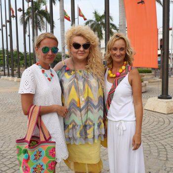 Pani Magda Gessler z dziewczynami z Kolumbii Travel