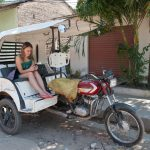 Motocyklowa riksza w Mompox